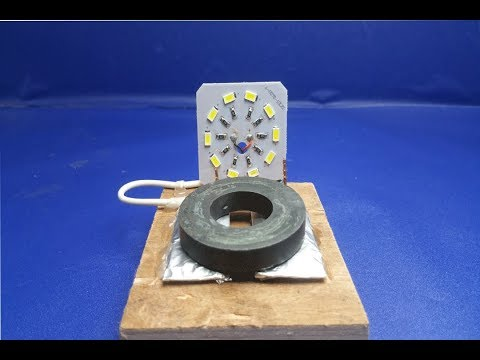 Free Energy light Bulbs Using Magnet -100% Work Free Energy Light Bulbs 12V using Magnet