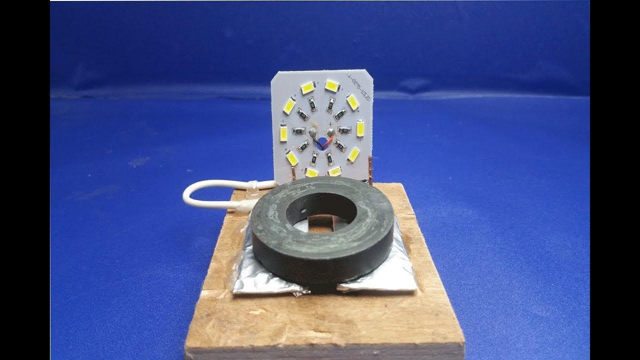 Free Energy light Bulbs Using Magnet -100% Work Free ...