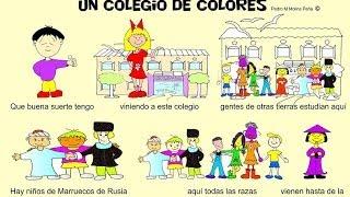 Video Cancion Infantil Paz e Interculturalidad Un cole de colores download MP3, 3GP, MP4, WEBM, AVI, FLV Oktober 2018