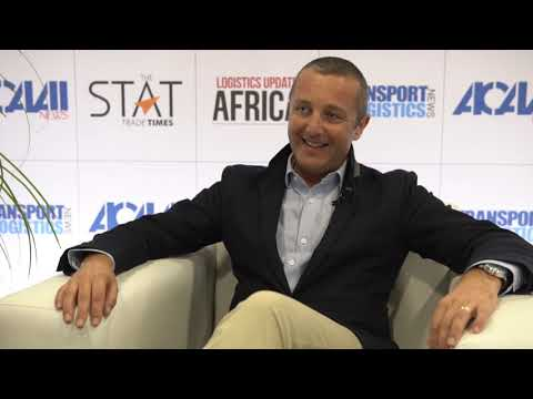 Guillaume Halleux, chief officer cargo, Qatar Airways at Air Cargo Africa 2019