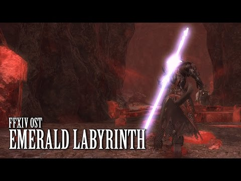 FFXIV OST Emerald Labyrinth ( Palace of the Dead )