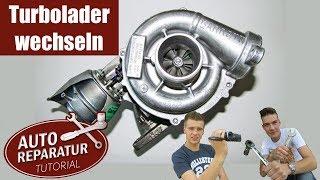 Turbolader wechseln | BMW Turbo erneuern | DIY Tutorial
