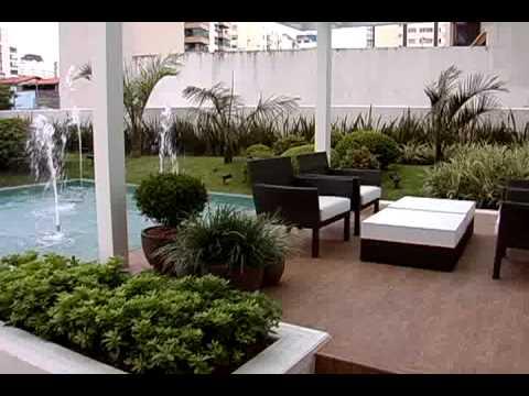 plantas para jardim sobre laje : Jardim contempor?neo sobre laje - YouTube