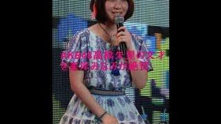 AKB48で若手のリーダー的存在でもあり、「次期総監督」との呼び声も高い...