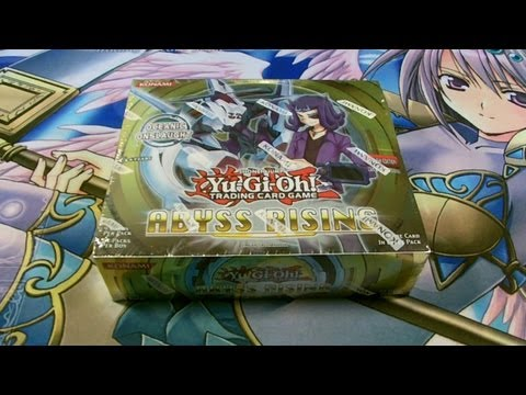 Best Yugioh 2012 Abyss Rising 1st Edition Booster Box Opening Ever! OH BABY!  