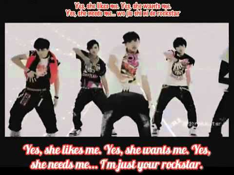 (Eng/Spa-Sub) MIC男团 - Rockstar (MV)