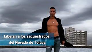 Liberan al actor Alejandro Sandí y al empresario francés secuestrados en Nevado de Toluca