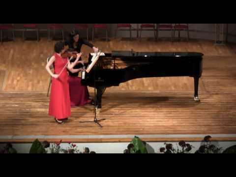 F. Poulenc, Sonata for Violin and Sonata, Op. 119 Mov. I