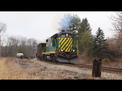 NHN Extra with 1801 | New Hampshire Northcoast Railroad