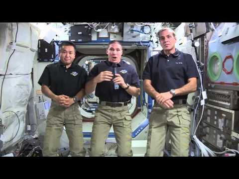 International Space Station Crew Chats About Life in Space with the Media