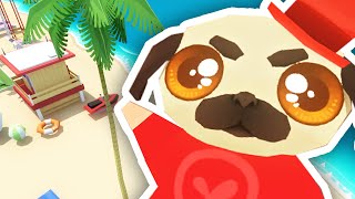 PUGS CRASH THE BEACH PARTY!! | Anarcute #6