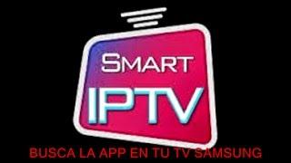 SMART IPTV EN TV SAMSUNG