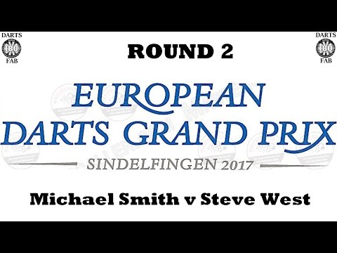 HappyBet European Darts Grand Prix - Round 2 [11of16]: Michael Smith v Steve West