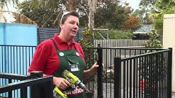 How To Install Aluminium Pool Fencing - DIY At Bunnings