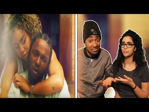 Kendrick Lamar - LOVE. ft. Zacari | GIRLFRIEND REACTION TO ❤ | K DOT - LOVE | (OFFICIAL MUSIC VIDEO)