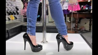 Review Bordello Teeze 06 Black Stiletto 5 75 Inch High Heel Shoes
