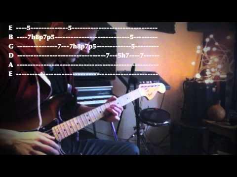 A Dorian Blues Guitar Lick