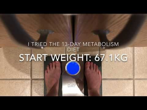 I tried the 13-Day Metabolism Diet