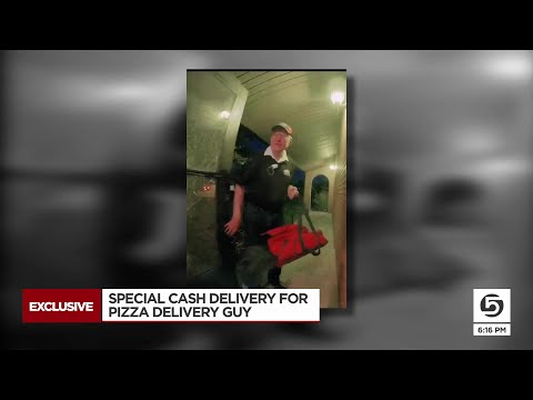Pizza Delivery Driver Gets Surprise Tip, Becomes 'TikTok Famous'