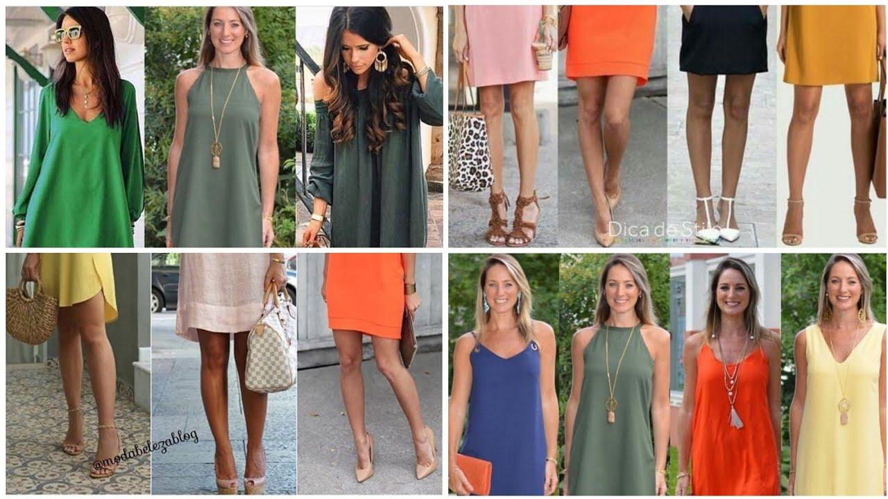 VESTIDOS SENCILLOS 2020/La Moda Cambia el Estilo Permanece/Tips de Vestuario
