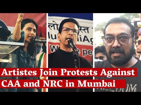 Swara Bhasker, Javed Jaffrey, Anurag Kashyap Join Protests Against CAA and NRC in Mumbai | The Wire