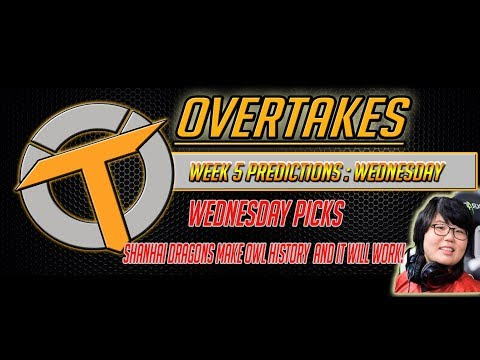 Overwatch League Week 5 Wednesday Predictions & Shanghai signs OWL's first female player