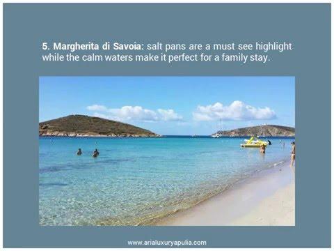 Top 5 Beaches of Puglia, Italy