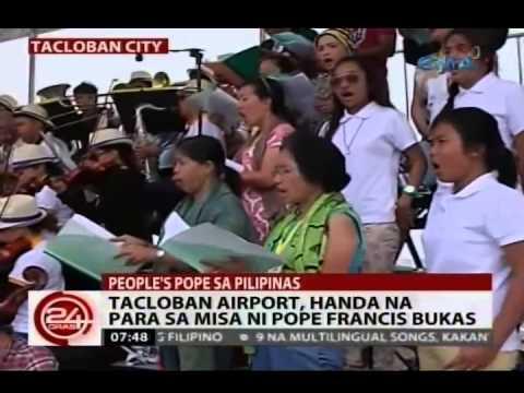 24Oras: Mga taga-Leyte, sabik nang makita si Pope Francis bukas