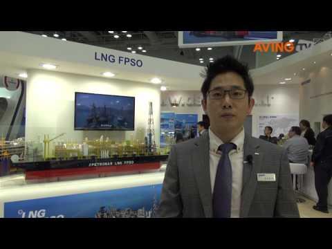 [코마린 2013 영상] 대우조선해양, 부유식 생산·저장설비 소개