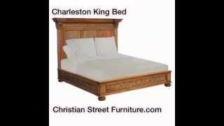 Charleston King Bed | Christian Street Furniture