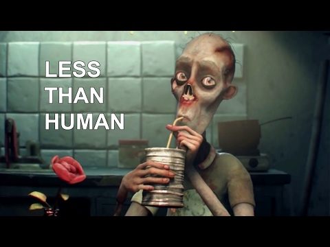 3D Animated Short Film  LESS THAN HUMAN  by The Animation Workshop  Zombie film