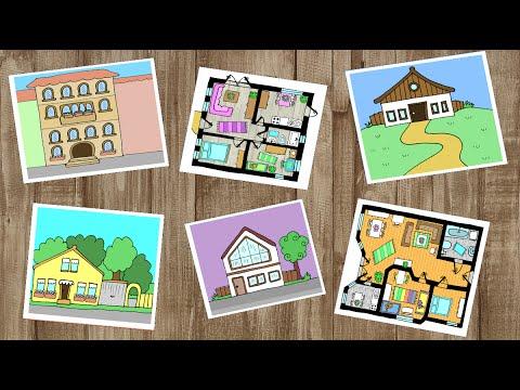 Deutsch lernen haus wohnung und zimmer apprendre l for Wohnung dekorieren lernen