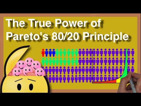 Paretos 80/20 Principle | How to be Productive!