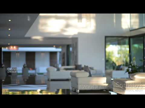 Luxury Contemporary Property for Sale in Cannes Californie (Short)