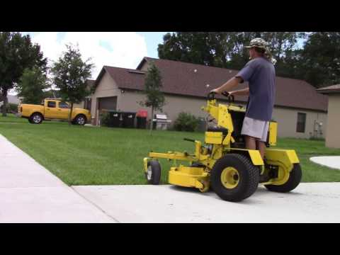 Realtime mowing 16 Great Dane Super Surfer mowing various yards