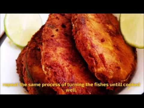 FISH FRY (ONLY 3 INGREDIENTS USED) YUMMY &TASTY FISH FRY