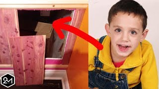 Boy Goes Missing For 2 Years Then Father Finds This Behind A Wall