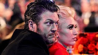 Blake Shelton Can't Keep His Hands off Gwen Stefani at Grammys Party