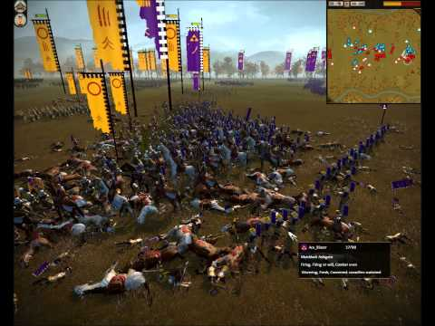 Total War Shogun 2 - Mod Wars #3 HD: Ace vs [DEF] Backo |