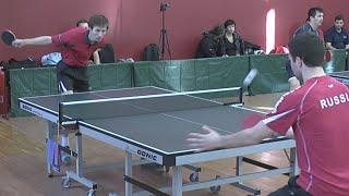 Дмитрий ОСИПОВ vs Вадим БАРЫШНИКОВ, Турнир Master Open, Настольный теннис, Table Tennis