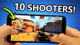 TOP 10 Mejores SHOOTERS para Android - Juegos de DISPAROS ONLINE y OFFLINE