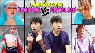 [10.40 MB] LẦN ĐẦU XEM KILL THIS LOVE của BLACKPINK và PONYTAIL GIRLS | CrisDevilGamer Reaction
