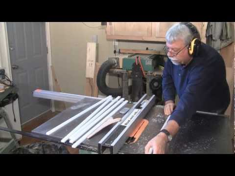 Making Mitre Slot Blanks - A woodworkweb.com woodworking video