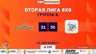 Империал - Квант. Зимний Чемпионат. ЛФЛ Воронеж 20202021