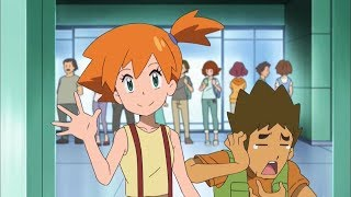 Ash Meets Misty and Brock in Kanto! - Pokemon Sun and Moon Episode 42 English Dubbed
