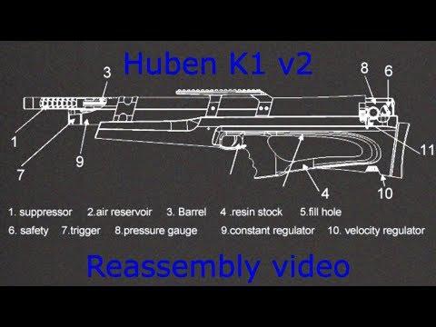 Huben K1 version 2 - reassembly