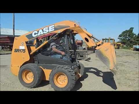 2011 Case SR175 skid steer for sale | no-reserve Internet auction July 20,  2017
