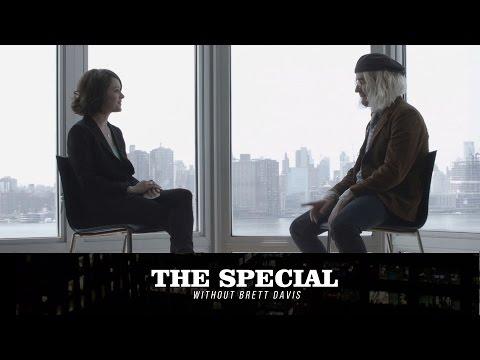 Fran Thumbskin (Lauren Ashley Carter) interviews John Gentle on The Special Without Brett Davis