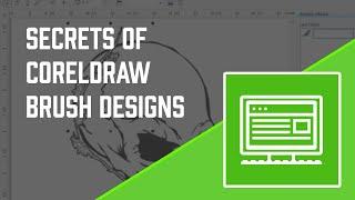 Secrets of CorelDRAW Brush Designs Pt. 1 - How to use Corel Draw