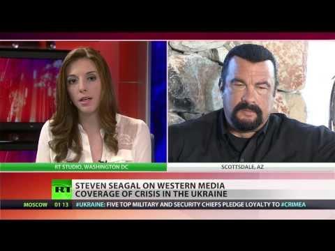 Steven Seagal: Some should do homework before covering Ukraine